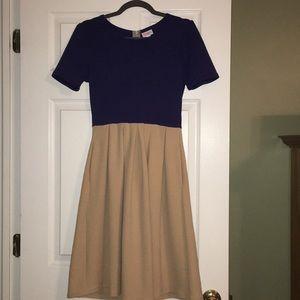 LulaRoe Amelia dress size small